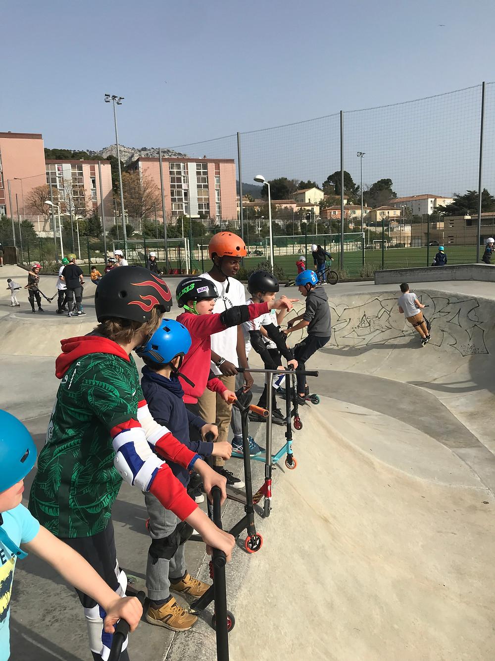 Nos cours de trottinette freestyle à Toulon