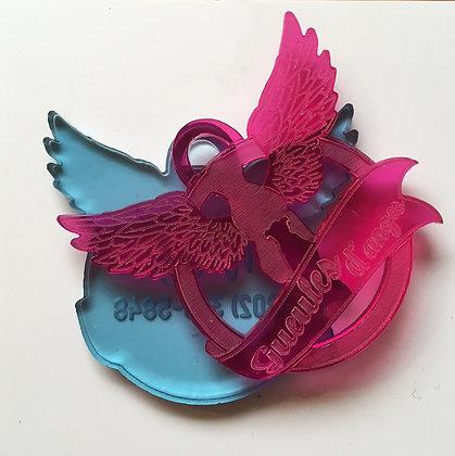 Médaille personnalisée Gueules d'Anges