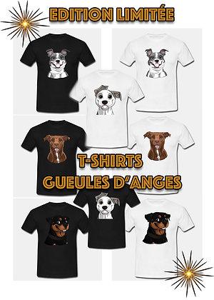 T-shirts Gueules d'Anges Mascotte