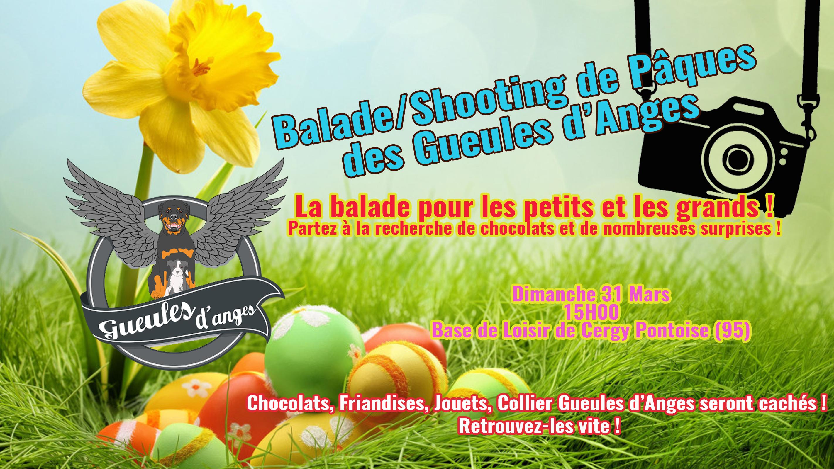 Balade/Shooting de Pâques