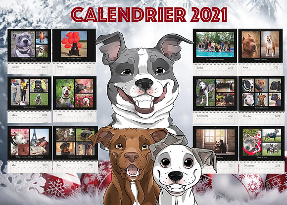 Calendrier Gueules d'Anges 2021 (version Staff)