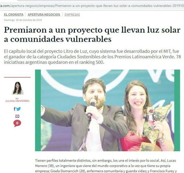 Gracias _diariocronista y _julianamonfer