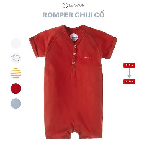ROMPER CHUI CỔ