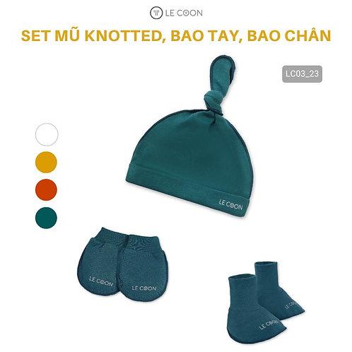 SET MŨ KNOTTED, BAO TAY, BAO CHÂN