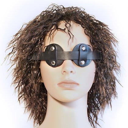 "Leather ""No Peek"" Eye Mask"