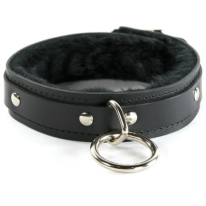 1 Ring Fuzzy Locking Slave Collar