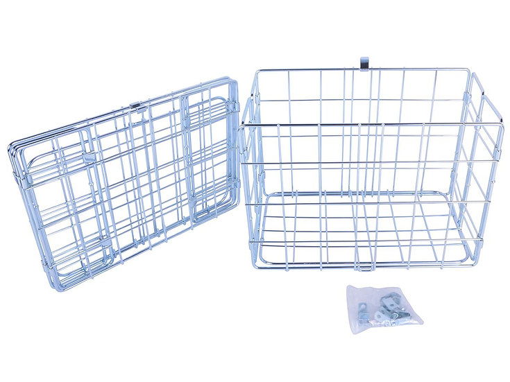 Wald 582 Folding Basket - Silver