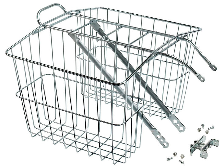 Wald 520 Twin Carrier Basket - Silver