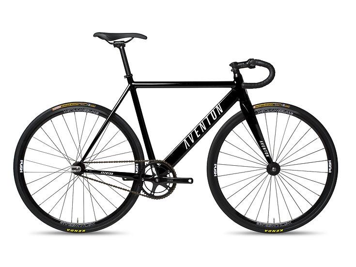 Aventon Corboba Fixed & Single Speed Bike - Obsidian Black