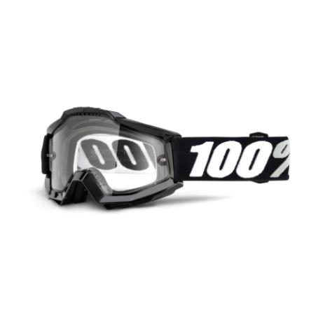 100% Accuri Enduro MTB Goggles Tornado / Clear Lens