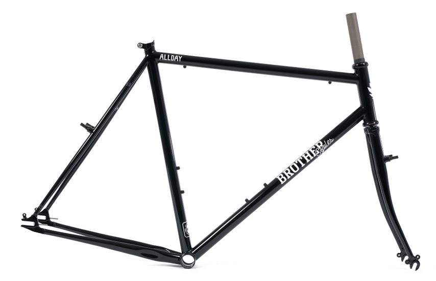 Brother Cycles The Allday Frame - Black