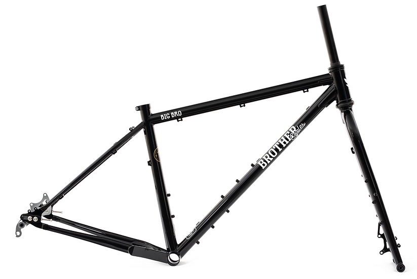 Brother Cycles Big Bro Frame - Black