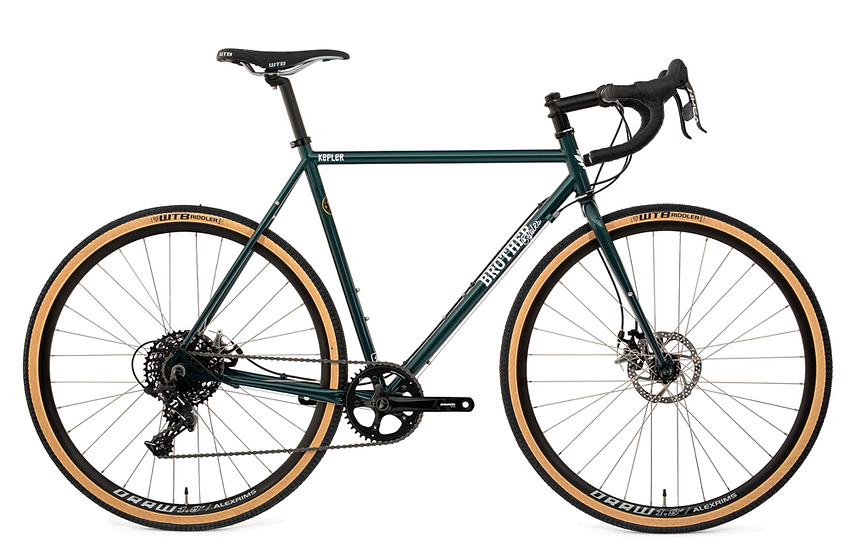 Brother Cycles 2020 Kepler Disc Complete Bike - Green