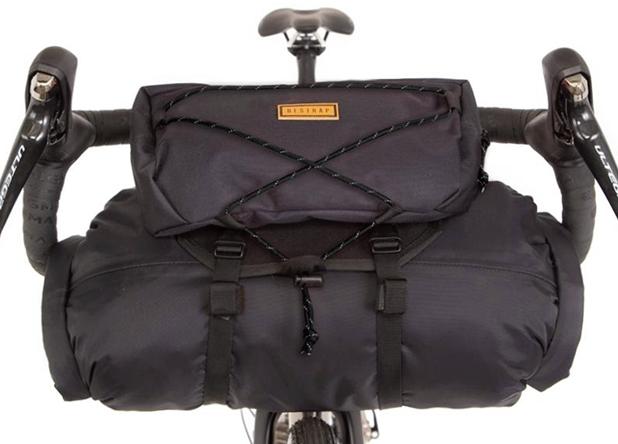 Restrap Bar Bag + Dry Bag + Food Pouch - Black/Black