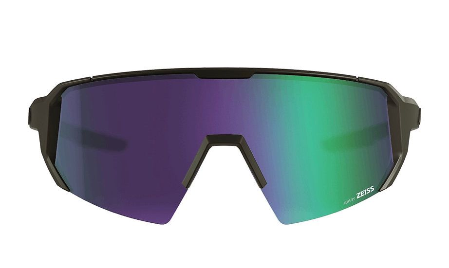 Melon Optics Alleycat Sunglasses - All Black/Violet Chrome