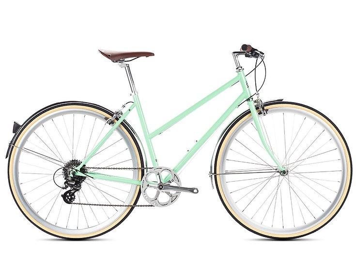 6KU Odessa 8spd City Bike - Elysian Green