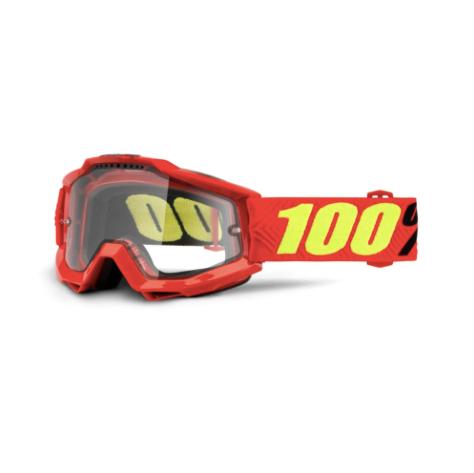 100% Accuri Enduro MTB Goggles Saarinen / Clear Lens