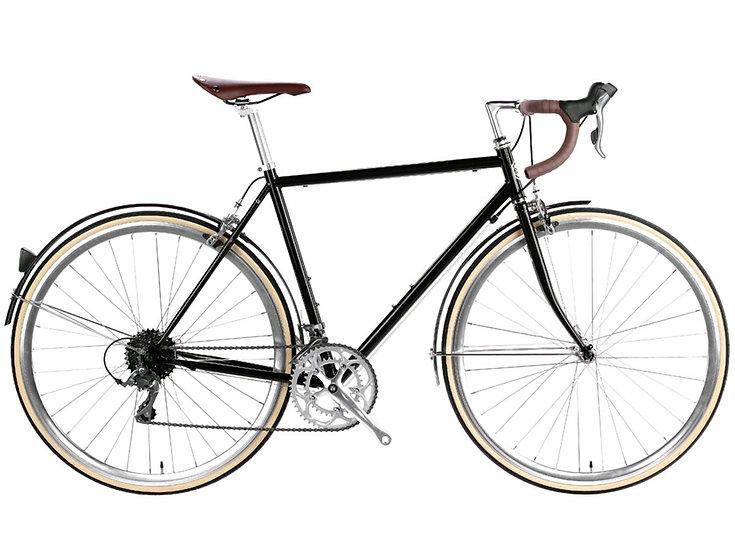 6ku Del Rey 16spd City Bike Metallic Black