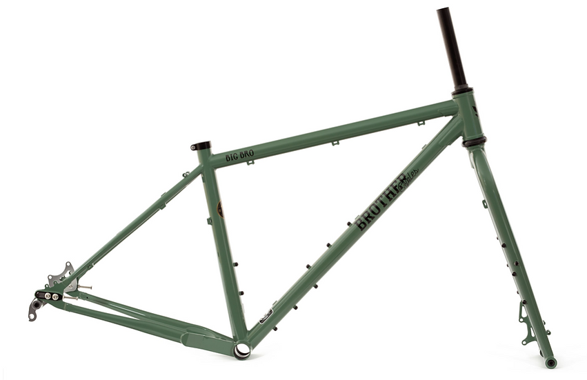Brother Cycles Big Bro Frame - Forest Green