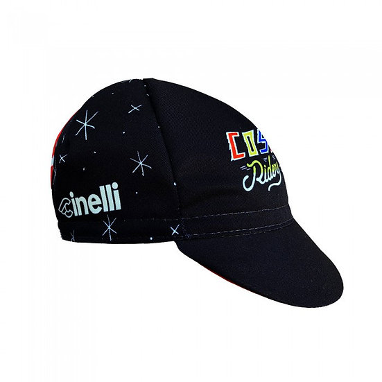 Cinelli Sergio Mora Cosmic Riders Black Cap