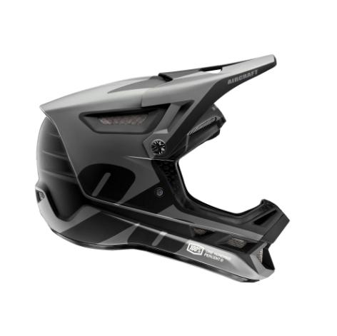 100% Aircraft Composite Helmet LTD Black