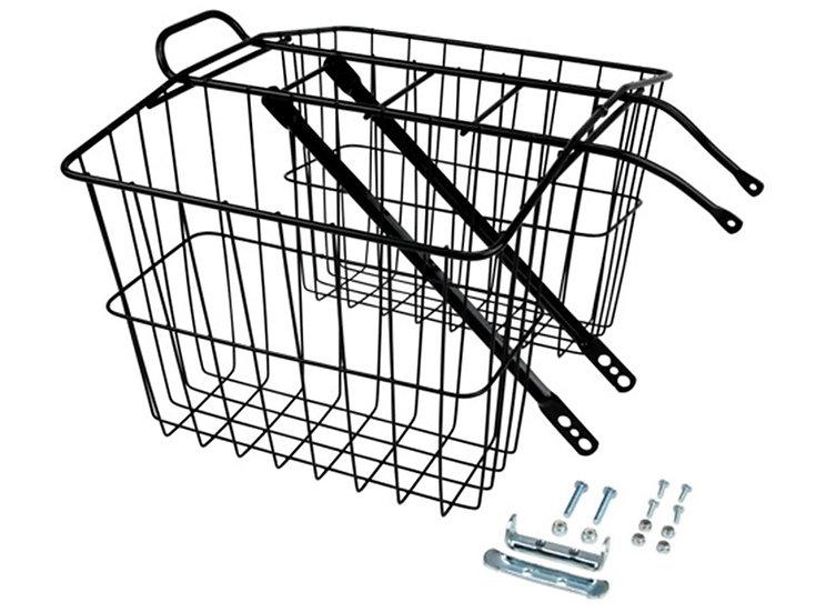 Wald 520 Twin Carrier Basket - Black