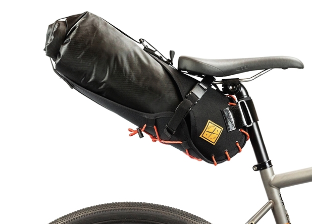 Restrap Saddle Bags -Black/Orange