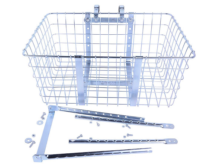 Wald 157 Giant Delivery Basket - Silver