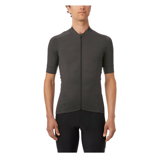 Giro New Road Short Sleeve Jersey - Charcoal