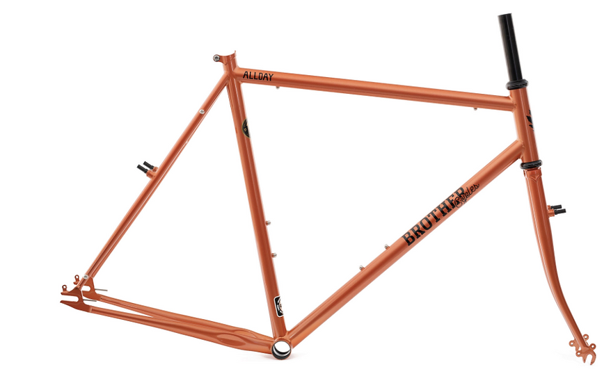 Brother Cycles The Allday Frame - Copper