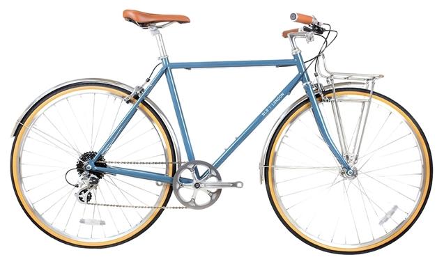 BLB Beetle 8 Speed Town Bike - Moss Blue