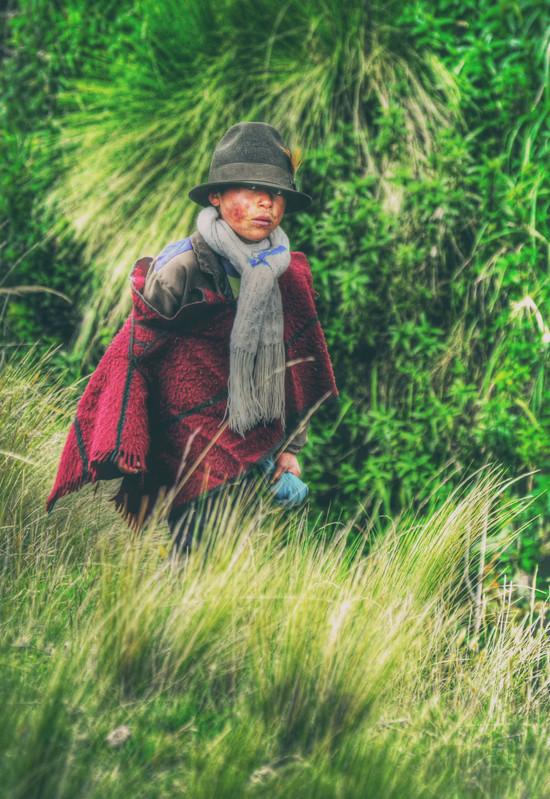 Incan Child