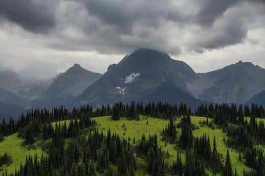 Stormy Alpine