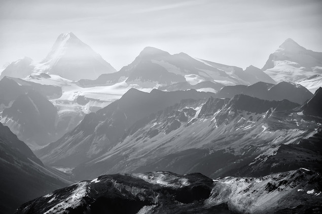 Mt. Robson BW