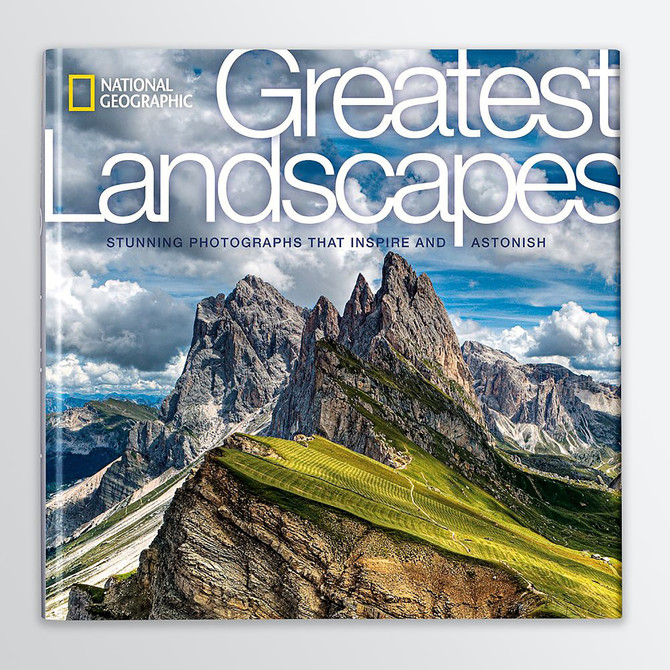 New Publication for 4 Element Photos: National Geographic's hardcover book 'Greatest Landsca