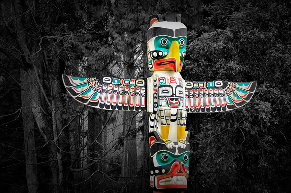 Rainforest Totem