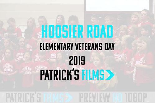 Hoosier Road Elementary | Veterans Day Program | Digital Download | 2019