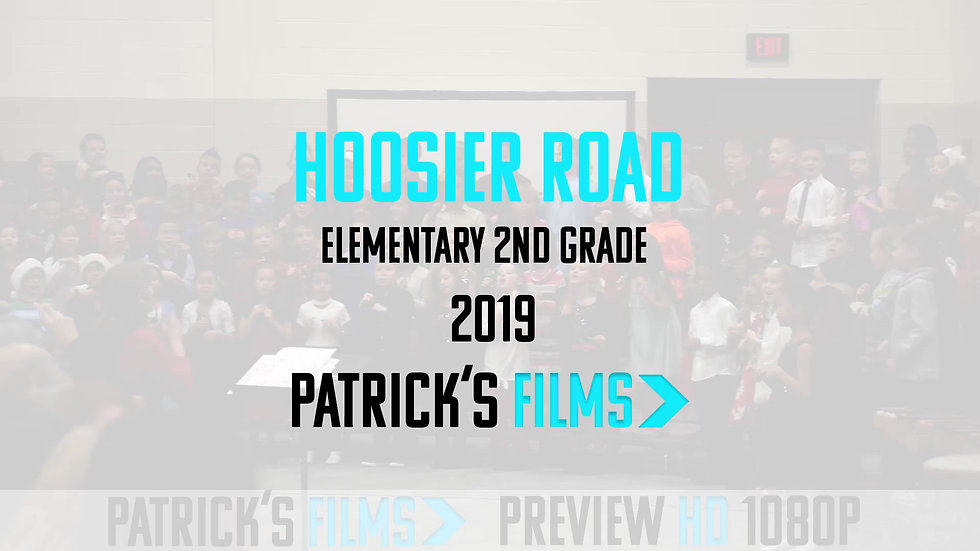 Hoosier Road Elementary | 2nd Grade Music Program | Digital Download | 2019