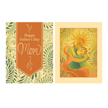 Happy Father's Day Mom | Card