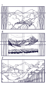 Himalaya Bound   Sketches