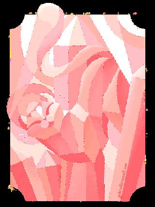 Crystal Cats   Rose Quartz Cat