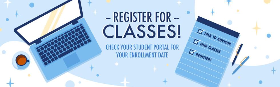 Register for Classes   2020