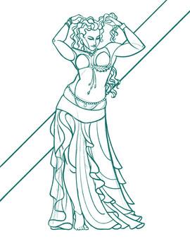 Belly Dance 2 Sketch