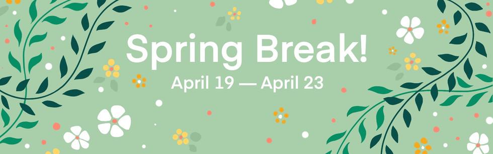Spring Break Banner   2021