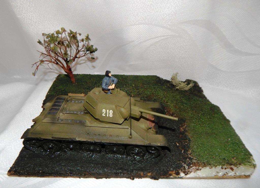 ПОНОМАРЁВ АНДРЕЙ. Советский средний танк Т-34-76