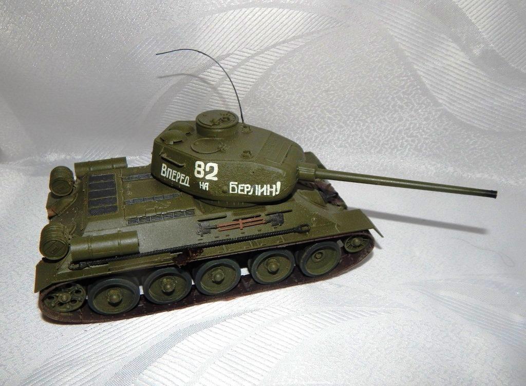 БАРМИН АРТЁМ. Советский средний танк Т-34-85