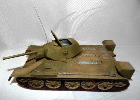 АРУШАНЯН САРКИС. Советский средний танк Т-34-76