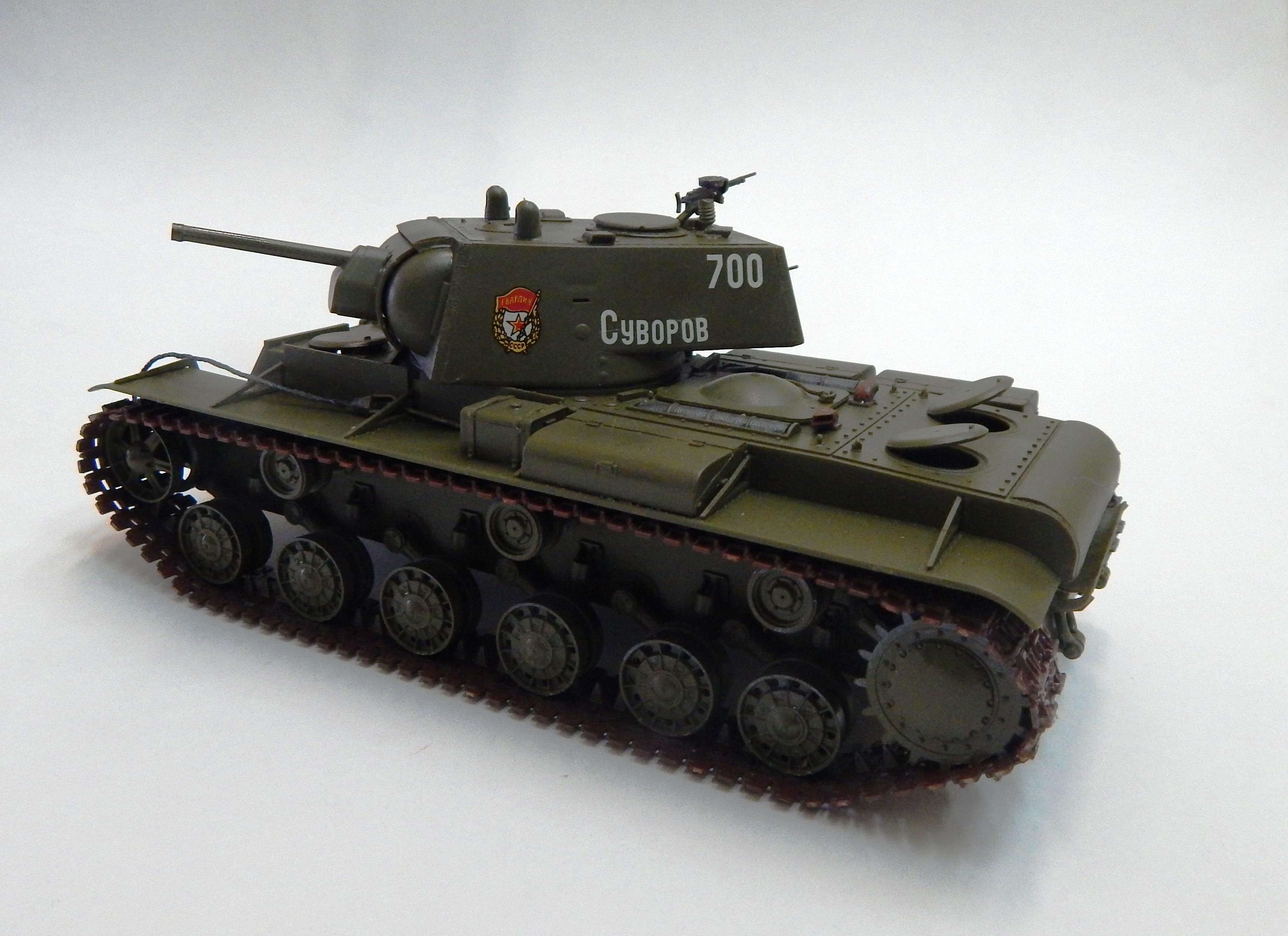 Тяжёлый танк КВ-1. Верещагин Я.