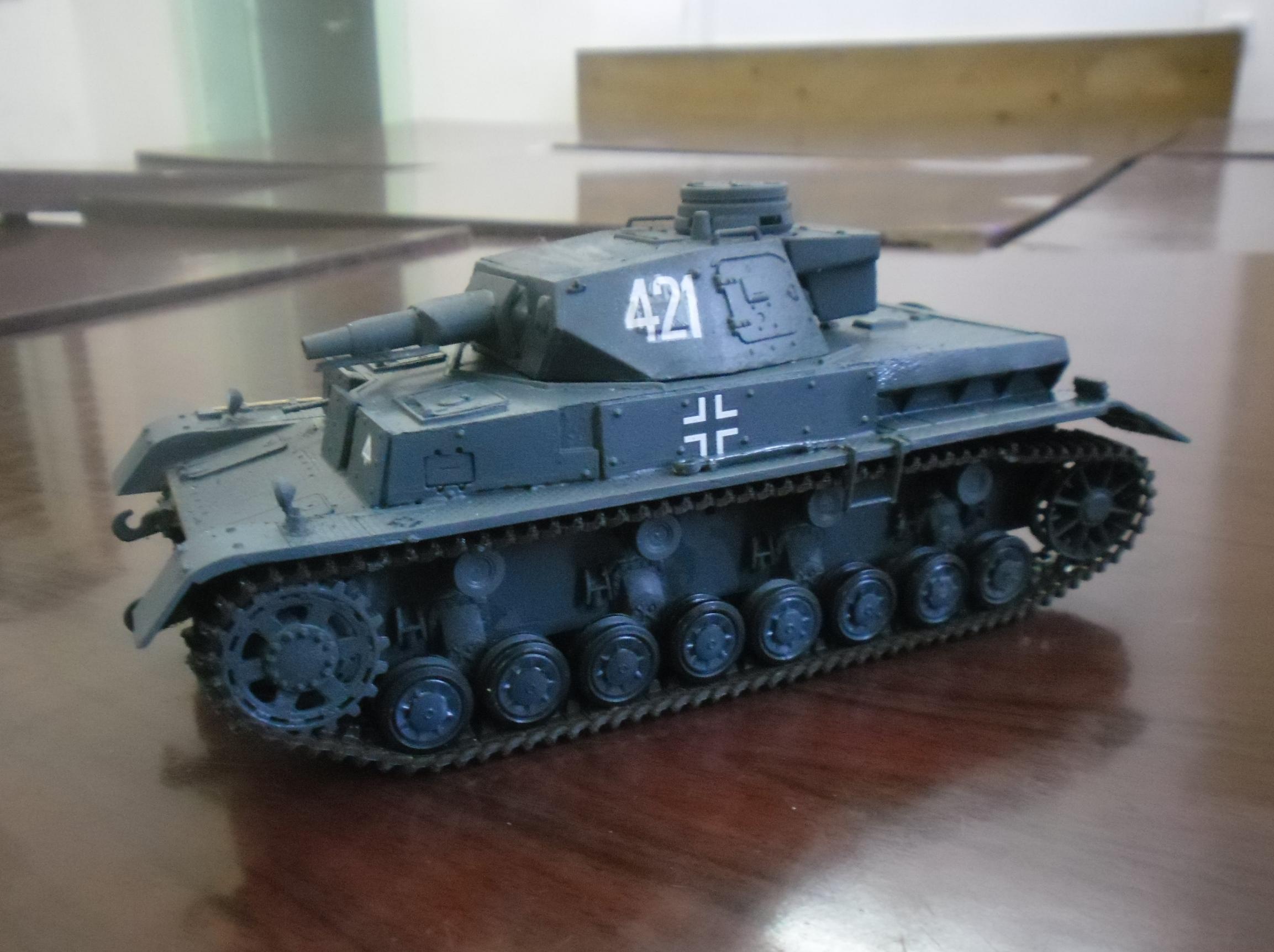Арушанян Саркис. Танк Pz.Kpfw.IV Ausf F1