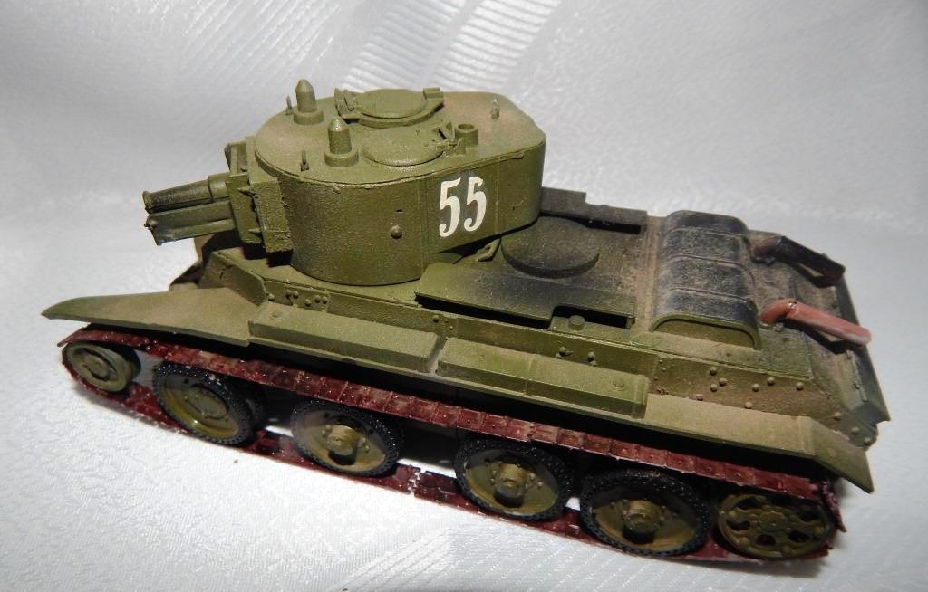 ЧУРУКСАЕВ ИЛЬЯ. Советский лёгкий танк БТ-7А